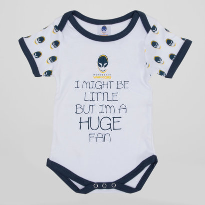 Worcester Warriors Infant Slogan Bodysuit