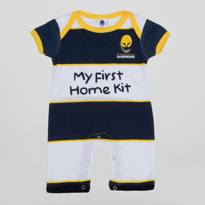 Worcester Warriors Infant Hooded Romper Suit
