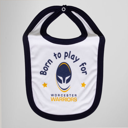 Worcester Warriors Baby Bib