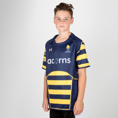 Under Armour Worcester Warriors 17/18 Cup Kids Rugby Shirt