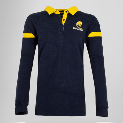 Worcester Warriors 16/17 Ladies L/S Cotton Rugby Shirt