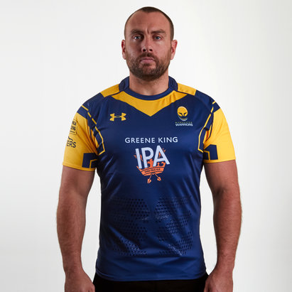 Worcester Warriors 16/17 Home Authentic Rugby Shirt