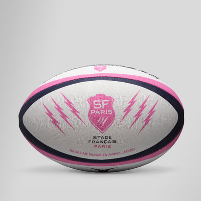 Gilbert Stade Francais Official Replica Rugby Ball