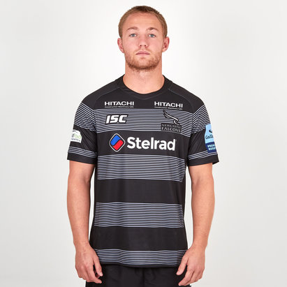 ISC Newcastle Falcons 2018/19 Home S/S Replica Rugby Shirt
