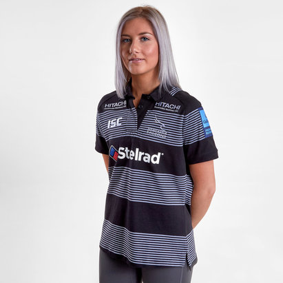 ISC Newcastle Falcons 2018/19 Ladies Home Cotton Rugby Shirt
