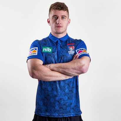 ISC Newcastle Knights NRL 2019 Players Rugby Polo Shirt