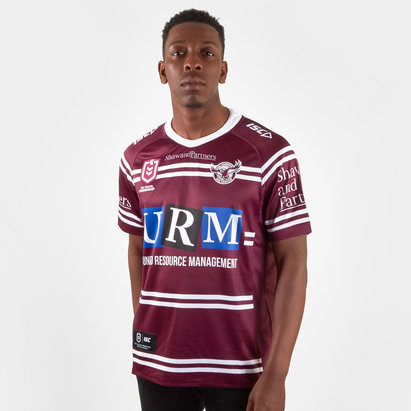 ISC Manly Sea Eagles 2019 NRL Home S/S Rugby Shirt