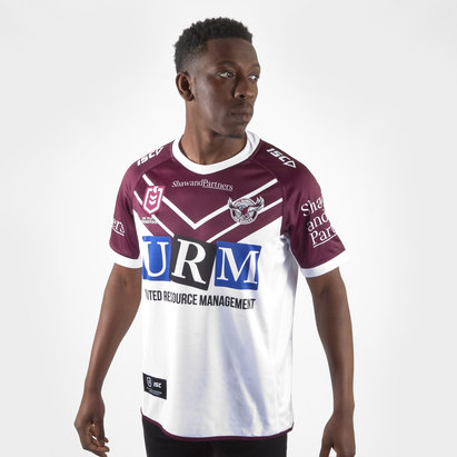 ISC Manly Sea Eagles 2019 NRL Alternate S/S Rugby Shirt