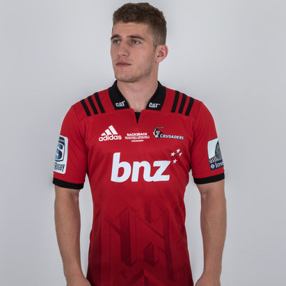 adidas Crusaders 2018 Super Rugby Winners S/S Rugby Shirt