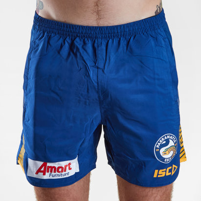 ISC Parramatta Eels 2019 NRL Players Rugby Training Shorts