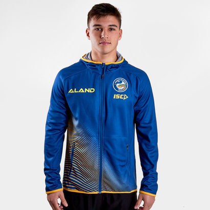 ISC Parramatta Eels 2019 NRL Players Hooded Rugby Sweat