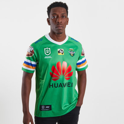 ISC Canberra Raiders NRL 2019 Home S/S Rugby Shirt