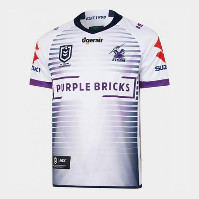 ISC Melbourne Storm NRL 2019 Alternate S/S Rugby Shirt