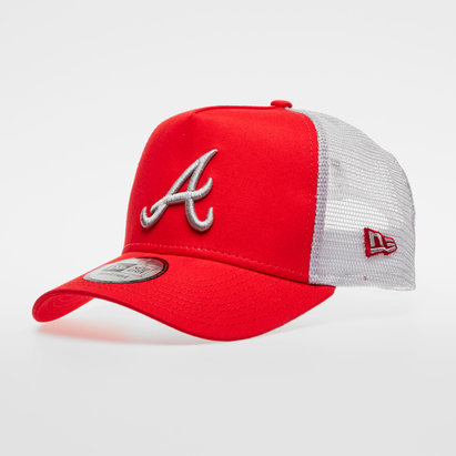 New Era MLB Atlanta Braves Team Essential Trucker Cap