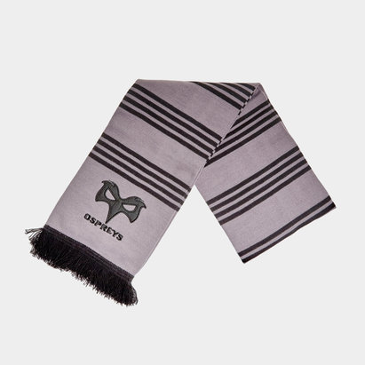 Ospreys Embroidered Scarf