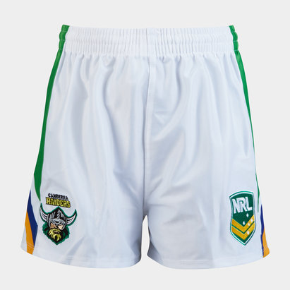ISC Canberra Raiders NRL Kids Supporters Rugby Shorts
