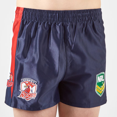 ISC Sydney Roosters NRL Kids Alternate Supporters Rugby Shorts