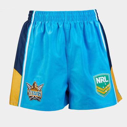 ISC Gold Coast Titans NRL Alternate Supporters Rugby Shorts
