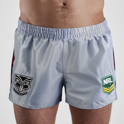 ISC New Zealand Warriors NRL Alternate Supporters Rugby Shorts