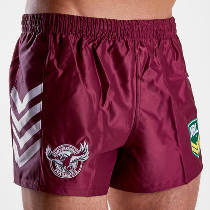 ISC Manly Sea Eagles NRL Alternate Supporters Rugby Shorts