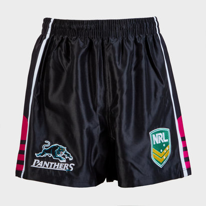 ISC Penrith Panthers NRL Alternate Supporters Rugby Shorts