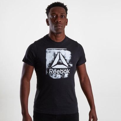 Reebok GS Stamped Logo S/S Crew T-Shirt