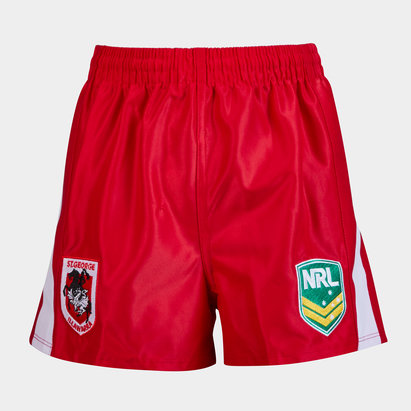 ISC St George Illawarra Dragons NRL Alternate Supporters Rugby Shorts