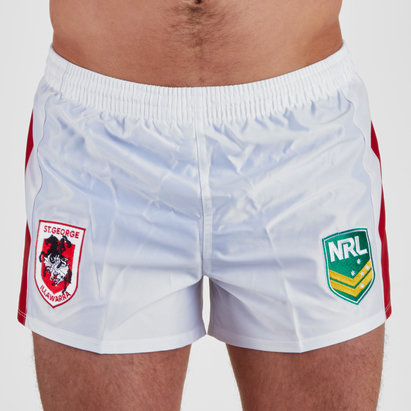 ISC St George Illawarra Dragons NRL Supporters Rugby Shorts