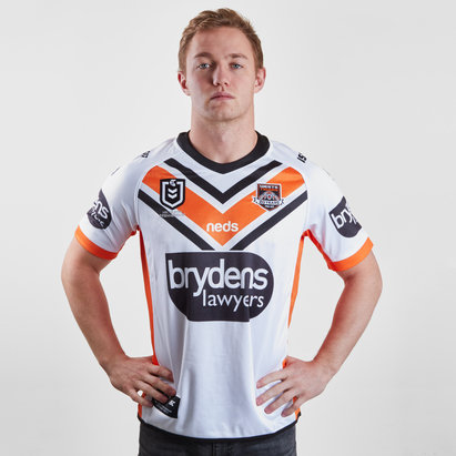 ISC Wests Tigers NRL 2019 Alternate S/S Rugby Shirt