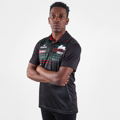 ISC South Sydney Rabbitohs NRL 2019 Players Rugby Polo Shirt