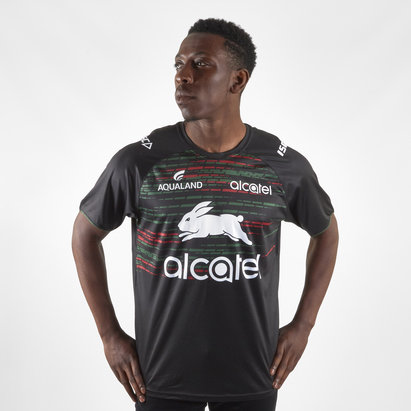 ISC South Sydney Rabbitohs NRL 2019 Players Rugby Training T-Shirt