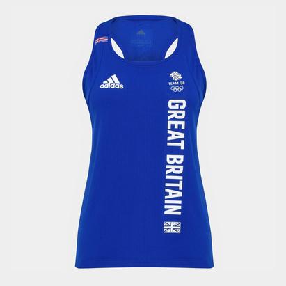 adidas Team GB Training Tank Top Ladies