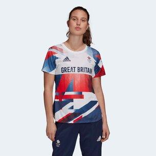 adidas Team GB HEAT.RDY Ladies Training T Shirt