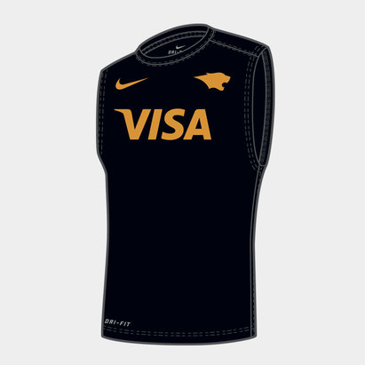 Nike Jaguares 2019 Players Rugby Training Singlet