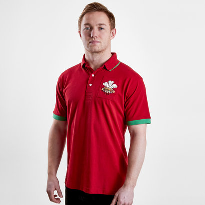 VX-3 Wales 2019/20 Vintage Rugby Polo Shirt