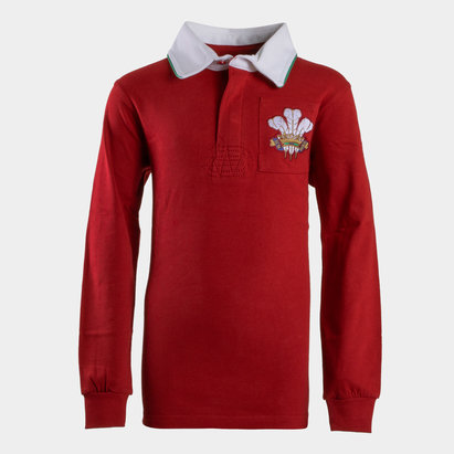 VX-3 Wales 2019/20 Kids Vintage Rugby Shirt