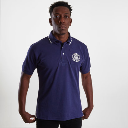 VX3 Scotland 2019/20 Vintage Rugby Polo Shirt