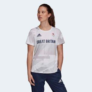 adidas Team GB HEAT.RDY Ladies T Shirt