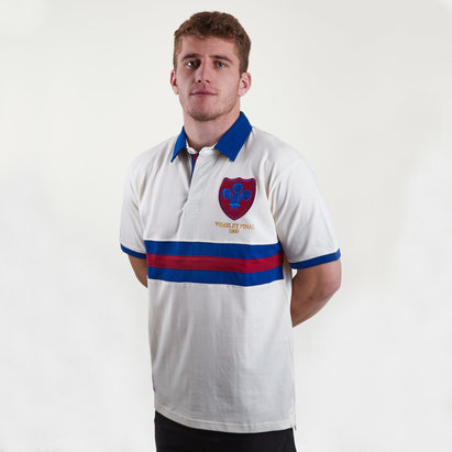 Heritage Neil Fox Hall of Fame Wakefield Rugby League Polo Shirt
