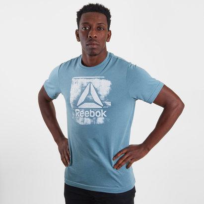 Reebok GS Stamped Logo Crew T-Shirt