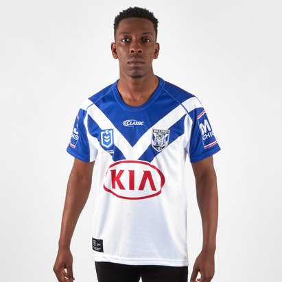 Classic Sportswear Canterbury Bulldogs 2019 NRL Home S/S Rugby Shirt