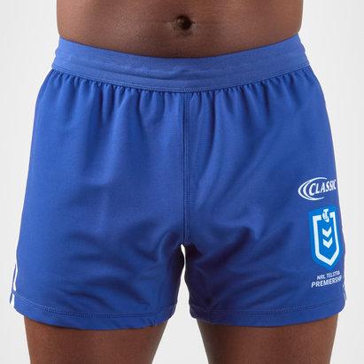 Classic Sportswear Canterbury Bulldogs 2019 NRL Home Rugby Shorts