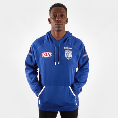 Classic Sportswear Canterbury Bulldogs 2019 NRL Players Hooded Rugby Sweat