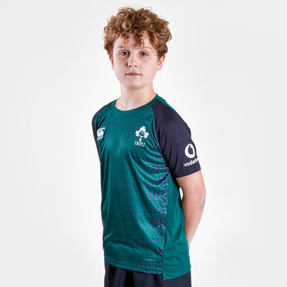 Canterbury Ireland IRFU 2019/20 Kids Superlight Rugby Training T-Shirt