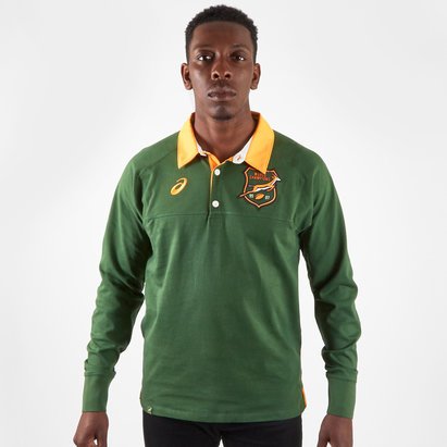 Asics South Africa Springboks 2019/20 L/S Classic Rugby Shirt