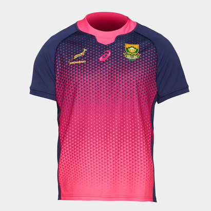 Asics South Africa Springboks 2019/20 Players S/S Rugby Training Shirt