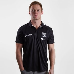ISC New Zealand Kiwis 2018/19 Players Performance Rugby Polo Shirt