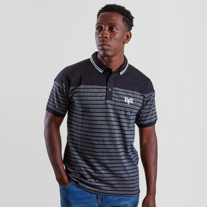 Ospreys Dove Collared Rugby Polo Shirt