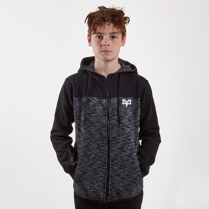 Ospreys Kids Serin Hooded Rugby Sweat