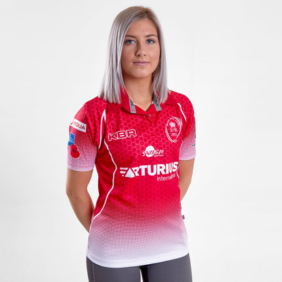 Samurai Army Rugby Union 2019 Ladies Home S/S Rugby Shirt